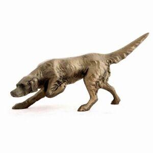 Frith Sculpture Gundog Pointing  Bronze  Graham watts  GW001