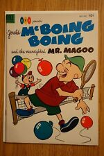 Gerald McBoing Boing and Mr. Magoo #4 (Dell,May,1953) Golden age Comic