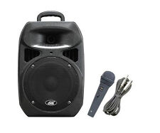 Audio2000'S 6406 Rechargeable Portable PA System w/APM1062 Wired Microphone-MR