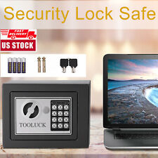 🔥Electronic Digital Safe Box Keypad Lock Security Home Office Cash Jewelry Gun+