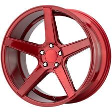 "KMC KM685 District 19x8.5 5x112 +35mm Candy Red Wheel Rim 19"" Inch"