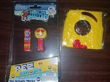Worlds Smallest Pez Emoji (heart eyes) Worlds Smallest Toy plus Bonus