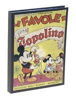 Le favole di Topolino - illustrazioni di Walt Disney - 1^ ed. 1939 Mondadori