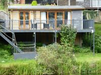 NORTH WALES HOLIDAY CHALET  7 nights 7th AUGUST 2021  OVERLOOKING THE LAKE