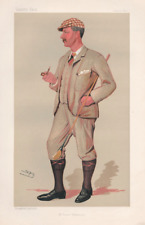 Vanity Fair Print : Mr. Horace G. Hutchinson 1890 / Golf