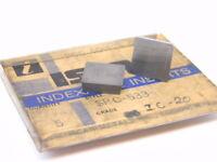 NEW SURPLUS 3PCS. ISCAR  SPC 533  GRADE: IC20  CARBIDE INSERTS
