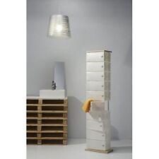 Scarpiera slim FLUIDA Wood CL832 10 cassetti big Base Legno Emporium-bagno casa