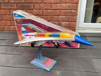 ALPS Japan Battery Operated Super Sonic Concorde In Its Original Box - Working