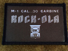 Rockola M1 Carbine Patch Tactical Military Army Badge Hook Flag USA