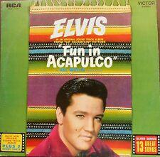 ELVIS PRESLEY- fun in acapulco OST - made in greece LP - RCLP 20043