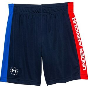 Little Boys Under Armour USA Olympic Freedom Shorts Red, White, Blue