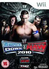 WWE SmackDown vs. Raw 2010 disc only (Nintendo Wii, 2009)