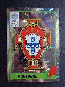 ☆ Panini Euro 2000 - Portugal Foil Badge