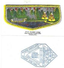 1991 Croatan Lodge 117 Game Card SE-7 Section Conclave North Carolina Boy Scout