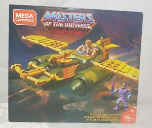 Brand New & Sealed Mega Construx Masters of the Universe Wind Raider Attack Kit