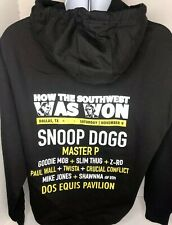 How The Southwest Was Won Tour Hoodie Mens Xl Snoop Dogg Master P