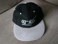 - SII realista! MotoWear lana/pelle scamosciata Cappellino Baseball Nuovo