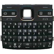 Keypad For Nokia E72, Black COLOUR