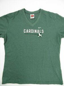 St Louis Cardinals Baseball Irish At Heart Nike T-Shirt Women's Size L