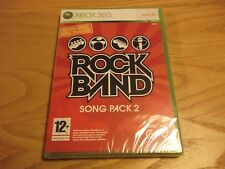 Rock Band Rockband Song Pack 2 XBOX 360 New Sealed Free PP