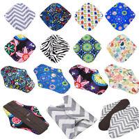 S/M/L/XL 56 Patterns Reusable Bamboo Cloth Washable Menstrual Pad Mama Sanitary