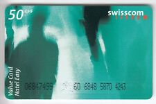 EUROPE TELECARTE / PHONECARD .. SUISSE 50FRCH  SWISSCOM ART PHOTO +N°