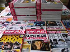 100's of HiFi & Audio Magazines ~ WHAT HI-FI ~ price for each