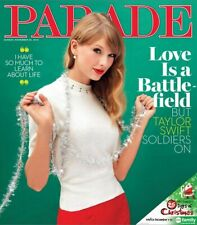 TAYLOR SWIFT PARADE MAGAZINE 2012 LOVE IS A BATTLEFIELD COVER STORY