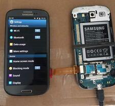 Used Samsung Galaxy S3 GT-I9305 Grey LCD Touch Screen Digitizer Display & Frame