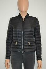 Moncler Black Blen Longue Saison Nylon Down Puffer Jacket/Winter Coat Size 0/XS