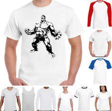 Hulk Camiseta de Gimnasio Entrenamiento Top Culturismo Mma en Forma