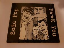 Soda Pop - F* You - Cd Free Shipping Rare