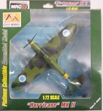 Easy Model MRC 1/72 Hurricane MKII Finland WWII 1942 Builtup Model 37243