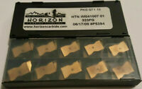 1 BOX OF 10 INSERTS- HTN IM041007 01 323FG 214572 HORIZON Carbide