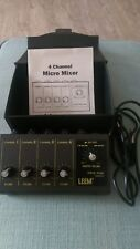 LEEM Micro Mixer WAM290 Originale Verpackung mit Anleitung Sound Musikequipment