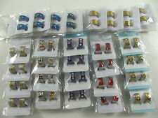 24 pairs Nice Mix Style Zircon Stainless steel earrings Fashion Jewellery