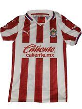 NWT Puma 20/21 CHIVAS de Guadalajara Home Soccer Jersey with sponsors Mens sz L