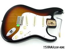 Fender Jimi Hendrix Stratocaster LOADED BODY Strat USA 65 Pickups 3TS Sunburst!