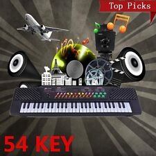 54 Keys Digital Music Electronic Keyboard Electric Piano + Mic + Adapter Gift