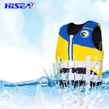 Hisea Chaleco salvavidas para niños Kayak Ski Booyancy Aid Vest Sailing XS-XL