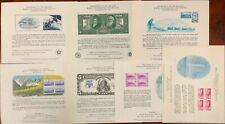 United States BEP B 36-43 Souvenir Cards 1976-77 Mint