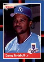 1988 Danny Tartabull Donruss Baseball Card #177