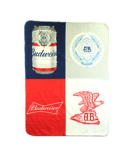 Budweiser Fleece Throw Blanket