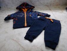 Baby Boy Petit Lem Blue Star Zip Hoodie Sweatshirt & Sweatpants Outfit Set