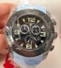 Swiss Legend Men's 10067-BB-01-BBL Commander Analog Display Quartz BLUE Watch-HR