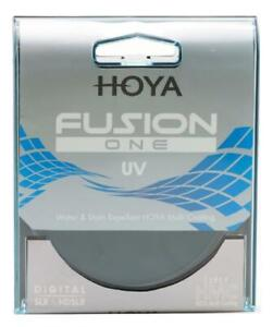 HOYA 58MM FUSION ONE UV HMC STAIN RESISTANT WATER REPELLENT FILTER ULTRA VIOLET