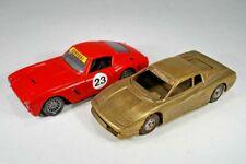 Ferrari Testarossa aus Messing - Made in Italy + Hot Wheels 1:25 Ferrari 250 GT