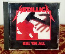 Metallica - Kill 'Em All E2 60766 Original Issue CD w/ Am I Evil and Blitzkrieg