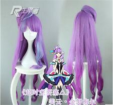 Cosplay Wigs Anime Macross F Mikumo Guynemer Wig Purple Ombre+Wig Cap