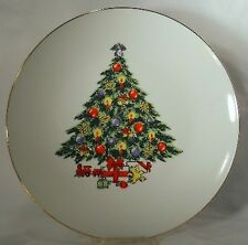 JAMESTOWN china CHRISTMAS TREASURE pattern Dinner Plate @ 10-5/8""